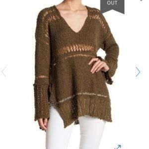 Free people Belong to you sweater size XS moss